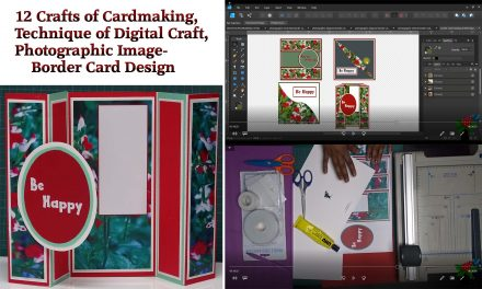 12 Crafts of Cardmaking, Digital Craft, Photographic Border Card