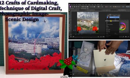 12 Crafts of Cardmaking, Digital Craft, Photographic Scenic Card