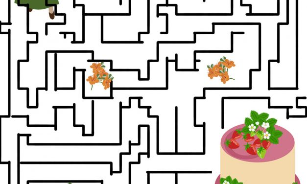 Crafters Games- Maze: Help Maricella To Get Her Party Cake