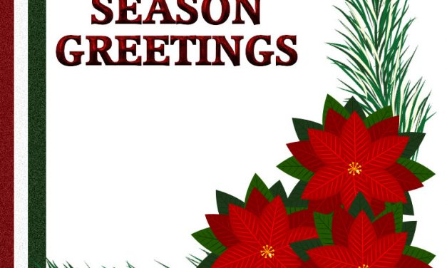 FESTIVE GREETING CARD 8