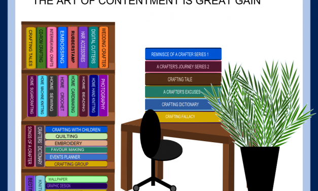 Reminisce of a Crafter: The Act of Contentment is Great Gain-CraftersTV