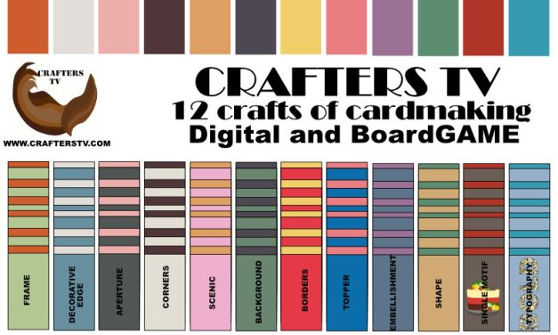 Crafters TV Game- 12 Crafts of Cardmaking