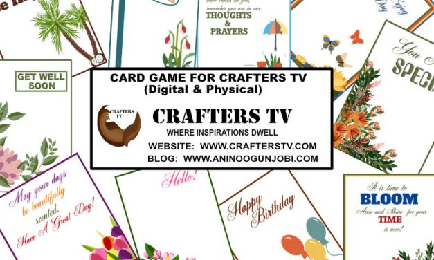 Gaming: Card Pairing Game-Digital & Physical Card Game for Crafters TV