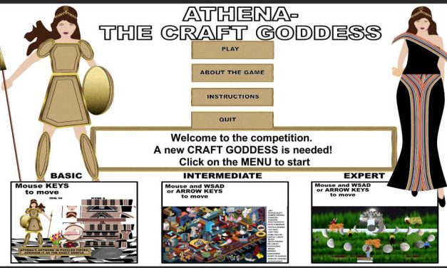 Including Video showing the GamePlay, Crafters TV Game- Athena The Craft Goddess on Itch.io