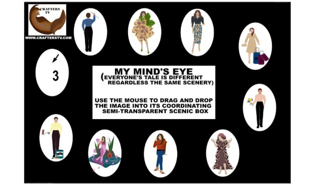 Gaming: Crafters TV 'My Mind's Eye' Mental Game Strategizes into Itch